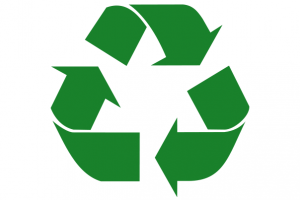 Das Symbol für Recycling.